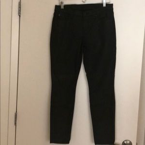 7 for all Mankind so 30 coated black jeans
